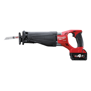 Milwaukee® Cordless M18 FUEL™ SAWZALL® Recip Saw Delivers